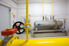 Cabine di ricezione e misura gas